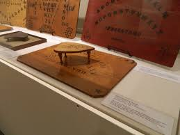 Ouija Board Coffee Table Vintage Paranormal Blog Archive The Baltimore Museum Of