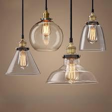 Modern <b>Pendant</b> Lights Nordic <b>Vintage</b> Glass <b>Lamp</b> Russia Loft ...