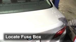 interior fuse box location 2010 2016 bmw 535i 2011 bmw 535i 3 0 replace a fuse 2010 2016 bmw 535i