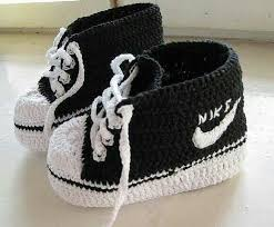 Crochet Nike Shoes Free Pattern