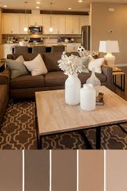 color schemes for brown furniture. Living Room: Amazing Color Schemes For Small Rooms With Furniture Sofa Sets Wood Table Beside Lampshade On Nightstand Front Kitchen Cabinet Brown