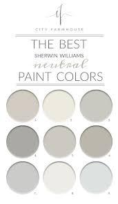 farmhouse paint colorsThe Best SherwinWilliams Neutral Paint Colors