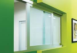 Reception Glass Windows Sliding Pass Through Windows Space Plus