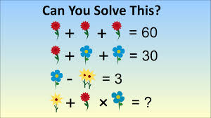 s stumped by math problem for kids in china flower algebra problem you