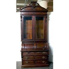 enlarge photo antique secretary desk with hutch writing desks secretaries