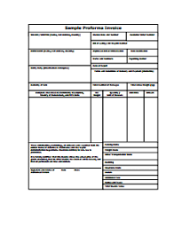 Quotation Proforma Format Print Invoice Quotation Download Them Or Print