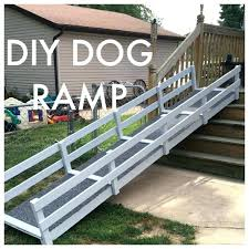 dog ramp for outdoor stairs cat
