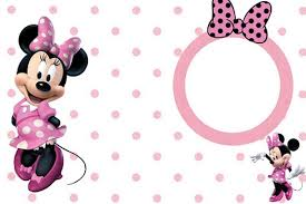 Minnie Mouse Blank Invitation Template Minnie Mouse Blank Invitation Template Ideal Minnie Mouse Party