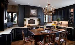 black kitchen furniture 30 pictures