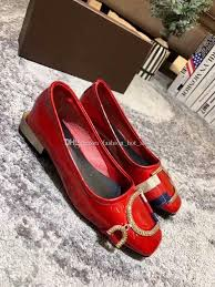 new single shoes patent leather red black buckle square toe womens flat wedding bridal loafers dress shoes mens dress shoes prom shoes from fashion hot shoe