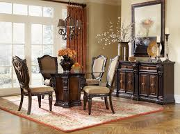luxury vintage dining space round dining room table