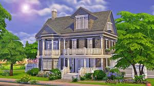 Small Picture Sims4 The Chocolate House No CC Rubys Home Design