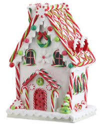 Candy Cane House Decorations Pin by Forever Happy on Little Christmas Cottage Pinterest 38