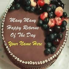 Birthday Cake With Name Editor Online Free Birthdaycakeformomcf