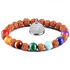 JOXFA 7 Chakra <b>Bracelet</b> for <b>Women</b> Men, <b>Natural</b> Gem Stone ...
