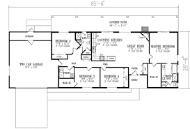 4 bedroom ranch house plans. Ranch Style House Plan Beds Baths Sqft Open Plans With Basements . Texas 4 Bedroom C