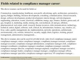 Compliance Officer Cover Letter Chief Compliance Officer Resume Chief Compliance Officer