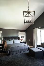 Masculine Bedroom Small Lighting And White Wall Paint For Modern Room Ideas With Big