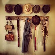 DIY Wood Repurposed Hat Racks