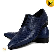 blue leather oxford shoes cw762082 cwmalls com
