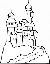 Print this coloring pages of the castle of cinderella and color it. Free Coloring Pages Castle Coloring Home