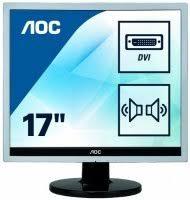 Купить компьютерный <b>монитор AOC E719SDA Silver/Black</b> по ...