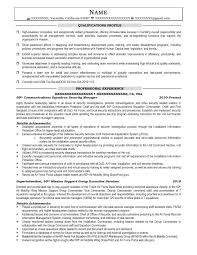 Communications Squadron Security Manager Resume Sample - After-1