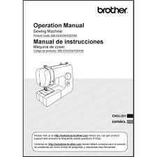 Brother Jx2517 Sewing Machine Instructions