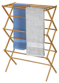 folding laundry clothes drying rack