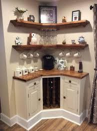 Built in Corner coffee / wine bar | Dream Home | Pinterest | Wine ...