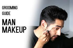 man makeup cover dark circles spots grooming guide men s makeup james welsh you