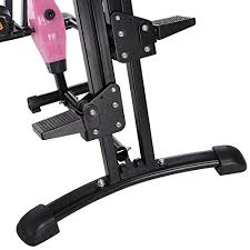 image office workout equipment. Vertical Climber Machine \u2013 Foldable 2 In 1 Stair Adjustable Arms Cardio Stepper Home Office Gym Body Training Fitness Workout Image Equipment