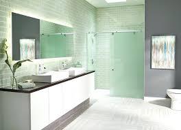 aqua glass shower aqua glass shower aqua glass shower door with beach style bathroom and mirror 2 door recess sliding shower
