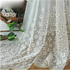 white sheer window curtains loading zoom