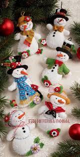Best 25+ Felt christmas ornaments ideas on Pinterest | Christmas felt crafts,  Felt ornaments patterns and Felt ornaments