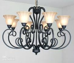 awesome black wrought iron chandeliers rustic traditional black wrought iron chandelier dining room pendant light piece
