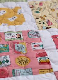 Fast & Free Five & Dime Quilt Tutorial & ... packaging, tags, and receipts. It's the perfect fabric for  fussy-cutting! You can read more about Heidi's inspiration for Five & Dime  as well as see ... Adamdwight.com