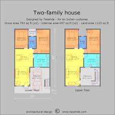 two family house multi generation house floor plan