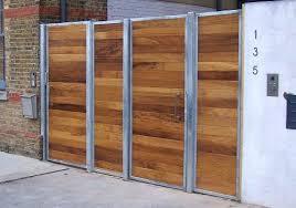 bi folding gates wooden driveway uk fold gate