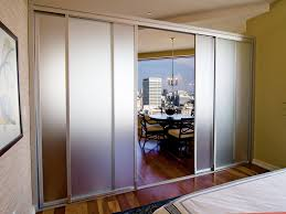terrific wall divider with door ideas with sleek aluminum divider and door platform and frosted glass paneling divider