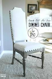reupholstering dining chair cost chic reupholstering dining chairs with  springs knock off no sew reupholstering dining . reupholstering dining  chair cost ...