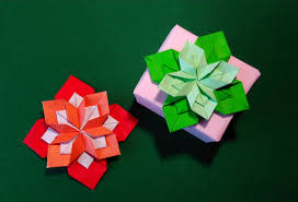Decorating Boxes With Paper Origami 60 petals flower Gift box decorating ideas YouTube 41