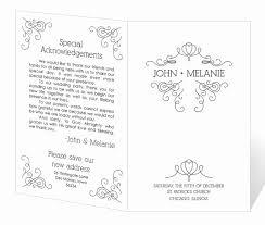 Wedding Program Templates Free Word Fresh Wedding Program