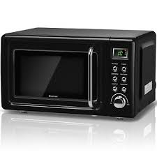 0 7 cubic feet 700 watt glass turntable retro countertop microwave oven kitchen 108 99