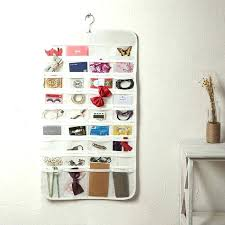 Hanging wall storage Pvc Jewelry Chinahaocom Jewelry Organizer Hanging Wall Mount Necklace Holder Hanging Jewelry