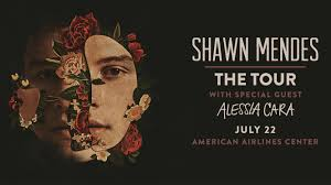 Shawn Mendes Seating Chart Shawn Mendes American Airlines Center