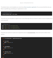 🔋 Custom (400 / 500) Error Pages in Ruby on Rails → Exception Handler