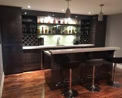 Modern Basement Bar Designs Bond Bar Modern Basement Toronto Lina
