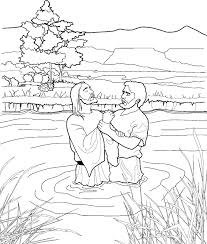 Small Picture John the Baptist coloring page for kids from ldsorg ldsprimary