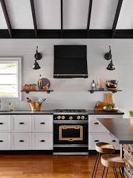 Black N White Kitchens Led Strip For Kitchen Lighting Thecookhouseco